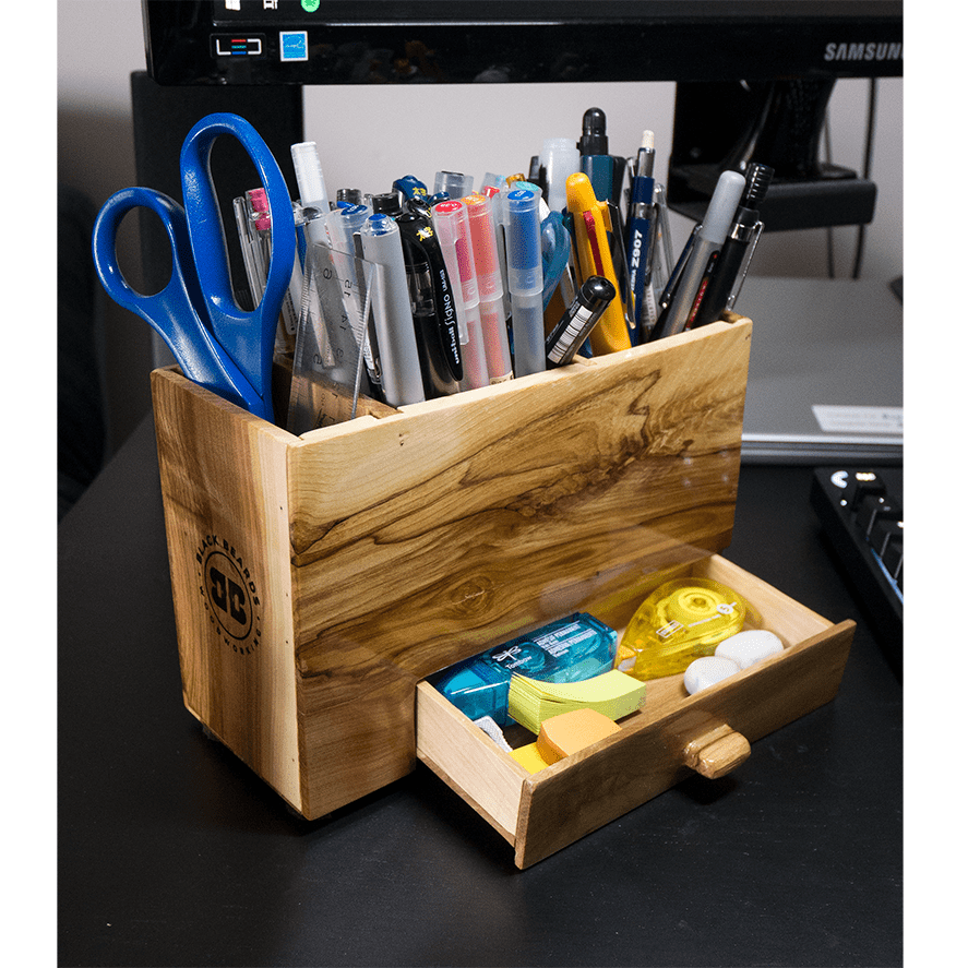 Black Beard Woodworking - Desk Top Storage