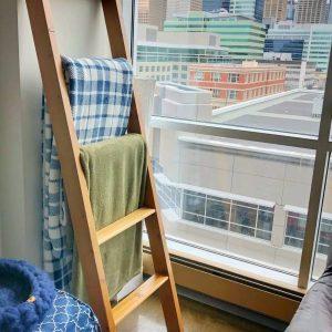 Black Beard Woodworking - Cedar Blanket Ladder