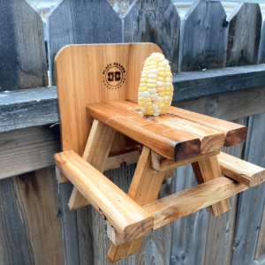 Black Beard Woodworking - Squirrel Picnic Table